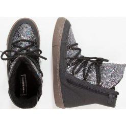 Gioseppo Botki sznurowane black. Czarne buty zimowe damskie Gioseppo, z materiału, na sznurówki. W wyprzedaży za 161,85 zł.
