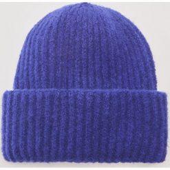 Czapka - Niebieski. Niebieskie czapki zimowe damskie marki House. Za 39,99 zł.