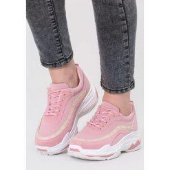 Różowe Sneakersy Give Yourself A Try. Czerwone sneakersy damskie vices, z materiału. Za 89,99 zł.