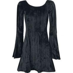 Sukienki balowe: Outer Vision Noci Black Velvet Sukienka czarny