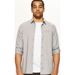 Koszula SLIM FIT - Szary. Szare koszule męskie slim marki House, l, z bawełny. Za 79,99 zł.