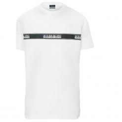 T-shirty męskie: T-SHIRT SAGAR WHITE