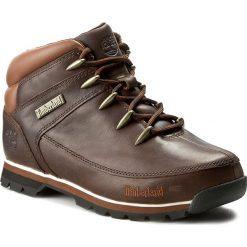 Trapery TIMBERLAND - Euro Sprint 6831R/TB06831R2421 Dark Brown. Brązowe timberki męskie marki Timberland, z gumy. W wyprzedaży za 439,00 zł.