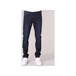 Jeansy slim fit Armani jeans  LOLO. Czarne jeansy męskie relaxed fit marki Armani Jeans, z jeansu. Za 517,30 zł.