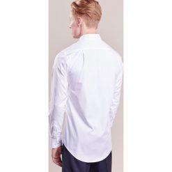 Tiger of Sweden FARRELL SLIM FIT Koszula biznesowa white. Brązowe koszule męskie slim marki Tiger of Sweden, m, z wełny. Za 549,00 zł.