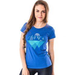 ELBRUS Koszulka damska AGULITA WO'S niebieska r. M. Niebieskie topy sportowe damskie marki ELBRUS, m. Za 33,36 zł.
