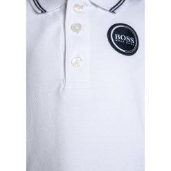 Bluzki dziewczęce bawełniane: BOSS Kidswear BABY LAYETTE  Koszulka polo weiss