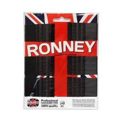 Ronney Profesjonalne wsuwki do włosów na karcie długie, czarne karbowane 100 szt. Czarne ozdoby do włosów Ronney. Za 5,54 zł.