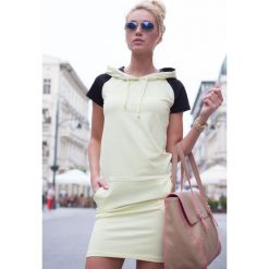 Sukienka Cytrynowa 7833. Żółte sukienki Fasardi, l. Za 32,90 zł.