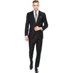 Garnitury: garnitur amery 306 czarny regular fit