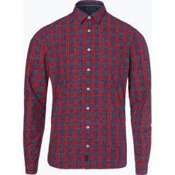 Marc O'Polo - Koszula męska, czerwony. Czerwone koszule męskie na spinki Marc O'Polo, l, w kratkę, z bawełny, polo. Za 299,95 zł.