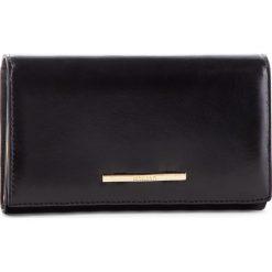 Duży Portfel Damski MONNARI - PUR0760 Black. Czarne portfele damskie Monnari, ze skóry. W wyprzedaży za 169,00 zł.