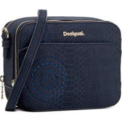 Torebka DESIGUAL - 17WAXPHJ 5001. Szare listonoszki damskie marki Desigual, l, z tkaniny, casualowe, z długim rękawem. W wyprzedaży za 169,00 zł.