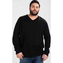 Swetry klasyczne męskie: BAD RHINO VNECK Sweter black