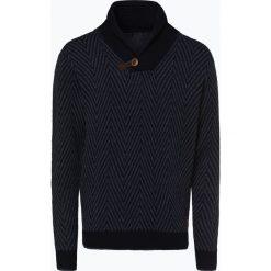 Nils Sundström - Sweter męski, niebieski. Niebieskie swetry klasyczne męskie Nils Sundström, l, z materiału. Za 299,95 zł.