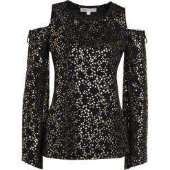 Bluzki asymetryczne: MICHAEL Michael Kors Bluzka z długim rękawem black/gold