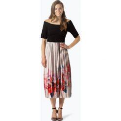 Coast - Sukienka damska, czarny. Czarne sukienki hiszpanki Coast, w paski, plisowane. Za 999,95 zł.