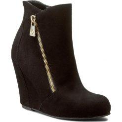 Buty zimowe damskie: Botki KAZAR - Gaspara 27052-02-00 Czarny