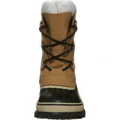Sorel YOUTH CARIBOU Śniegowce beige. Czarne buty zimowe damskie marki Sorel, z materiału. Za 499,00 zł.