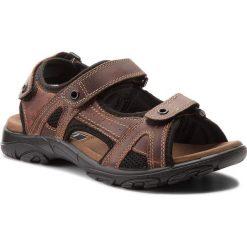 Sandały LASOCKI FOR MEN - MI20-MATEO-01 Brązowy 1. Brązowe sandały męskie skórzane Lasocki For Men. W wyprzedaży za 99,99 zł.