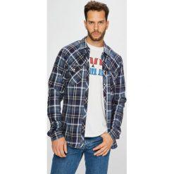 Blend - Koszula. Szare koszule męskie na spinki marki Blend, l, z bawełny, button down, z długim rękawem. Za 169,90 zł.