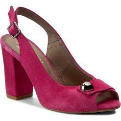 Rzymianki damskie: Sandały ANN MEX – 8001 02W Fuksja Róż
