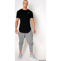 T-shirt lampasy czarny. Czarne t-shirty męskie Pakamera, m, z bawełny, z dekoltem na plecach. Za 99,00 zł.