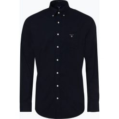 Gant - Koszula męska, niebieski. Niebieskie koszule męskie na spinki GANT, l. Za 299,95 zł.
