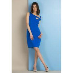 Sukienki: Sukienka zdobiona dżetami