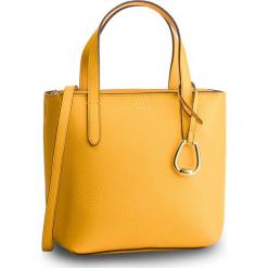 Torebka LAUREN RALPH LAUREN - 431730284008  Sunflower/Lauren Tan. Żółte torebki klasyczne damskie Lauren Ralph Lauren, ze skóry ekologicznej, zdobione. Za 649,00 zł.