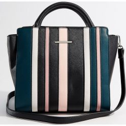 Torba City Bag - Wielobarwn. Czarne torebki klasyczne damskie Mohito. Za 119,99 zł.
