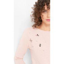 T-shirty damskie: Koszulka z kryształkami