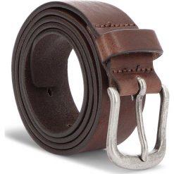 Pasek Męski WRANGLER - Authentic Belt W0B62U185 85 Brown. Brązowe paski męskie Wrangler, w paski, ze skóry. Za 129,00 zł.