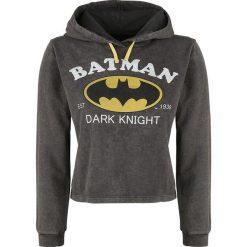 Bluzy rozpinane damskie: Batman Dark Knight Bluza z kapturem szary
