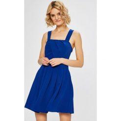 Morgan - Sukienka. Szare sukienki mini marki Morgan, na co dzień, m, z poliesteru, casualowe, rozkloszowane. W wyprzedaży za 249,90 zł.