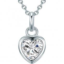 Srebrny naszyjnik z zawieszką - dł. 45 cm. Szare naszyjniki damskie Stylowa biżuteria, srebrne. W wyprzedaży za 99,95 zł.