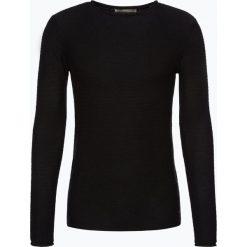Solid - Sweter męski – Jarah, czarny. Czarne swetry klasyczne męskie Solid, m, z bawełny. Za 229,95 zł.