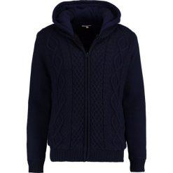 Swetry rozpinane męskie: Kaporal GINGO Kardigan navy