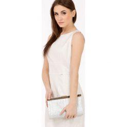 Sukienki hiszpanki: Lniana sukienka z połyskiem II