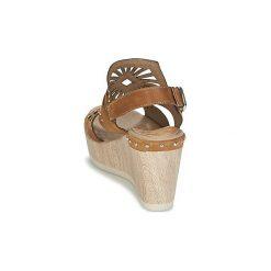 Sandały Dorking  SALMA. Brązowe rzymianki damskie Dorking. Za 351,20 zł.