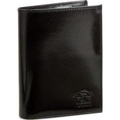 Duży Portfel Męski STEFANIA - SV-301M Czarny L. Czarne portfele męskie marki Stefania, ze skóry. W wyprzedaży za 119,00 zł.