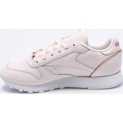 Reebok Classic - Buty Cl Lthr Hw. Czarne buty sportowe damskie reebok classic marki Asics, do biegania. W wyprzedaży za 299,90 zł.