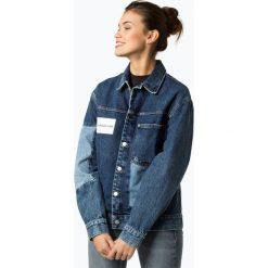 Calvin Klein Jeans - Damska kurtka jeansowa, niebieski. Niebieskie bomberki damskie Calvin Klein Jeans, xs, z jeansu. Za 659,95 zł.