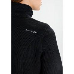 Spyder ENDURE FULL ZIP MID Kurtka z polaru black. Czarne kurtki sportowe damskie Spyder, xl, z materiału. W wyprzedaży za 439,20 zł.