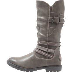 S.Oliver RED LABEL Kozaki grey. Szare buty zimowe damskie marki s.Oliver RED LABEL, z materiału, na wysokim obcasie. W wyprzedaży za 220,35 zł.
