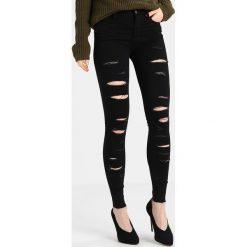 Even&Odd Jeans Skinny Fit black denim. Czarne rurki damskie Even&Odd. Za 149,00 zł.