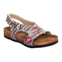 Sandały damskie: Sandały w kolorze szarym
