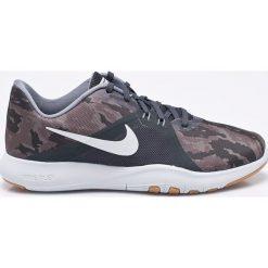 Nike - Buty Flex Trainer. Szare buty sportowe damskie Nike, z materiału. W wyprzedaży za 259,90 zł.