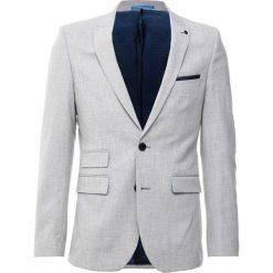 Marynarki męskie slim fit: Burton Menswear London Marynarka garniturowa grey