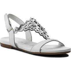 Rzymianki damskie: Sandały TAMARIS – 1-28126-20 White/Silver 191